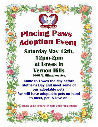 Poster about Adoption Event