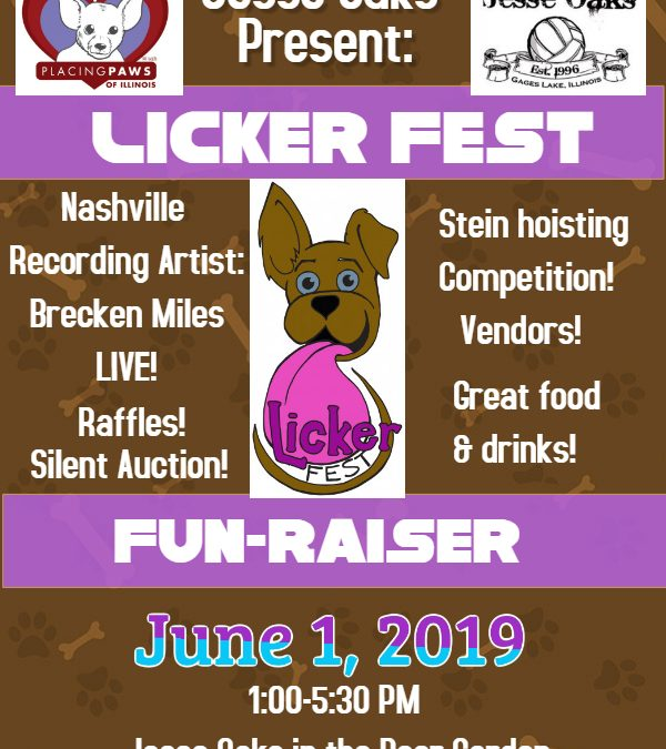 Licker Fest Fun-Raiser
