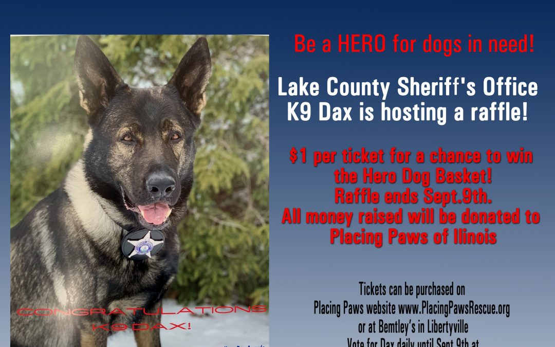 HERO DOG RAFFLE!