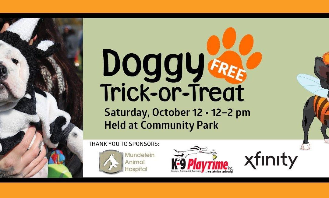 Free Doggie Trick or Treat
